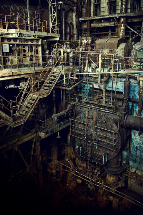 abandoned-places:  Power Plant