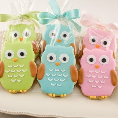I love these owl cookies!