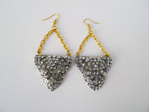 DIY Lulu Frost Style Earrings from Thanks, I Made It