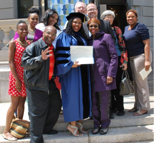 """knowledgeequalsblackpower:  2damnfeisty:  afro-dominicano:  dynastylnoire:  ananicola:  securelyinsecure:  Meet Jedidah Isler She is the first black woman to earn a PhD in astronomy from Yale University.  As much as she loves astrophysics, Isler is very aware of the barriers that still remain for young women of color going into science. """"It's unfortunately an as-yet-unresolved part of the experience,"""" she says. She works to lower those barriers, and also to improve the atmosphere for women of color once they become scientists, noting that """"they often face unique barriers as a result of their position at the intersection of race and gender, not to mention class, socioeconomic status and potentially a number of other identities."""" While Isler recounts instances of overt racial and gender discrimination that are jaw-dropping, she says more subtle things happen more often. Isler works with the American Astronomical Society's commission on the status of minorities in astronomy. She also believes that while things will improve as more women of color enter the sciences, institutions must lead the way toward creating positive environments for diverse student populations. That is why she is active in directly engaging young women of color: for example participating in a career exploration panel on behalf of the Women's Commission out of the City of Syracuse Mayor's Office, meeting with high-achieving middle-school girls. She is also on the board of trustees at the Museum of Science and Technology (MOST). """"Whether I like it or not, I'm one of only a few women of color in this position,"""" she says. """"Addressing these larger issues of access to education and career exploration are just as important as the astrophysical work that I do.""""  Learn more: http://news.syr.edu/getting-to-know-astrophysicist-jedidah-isler-74966/ http://www.nature.com/naturejobs/science/articles/10.1038/nj7480-471a http://www.npr.org/blogs/codeswitch/2013/12/17/251957062/a-graduate-program-works-to-diversify"""