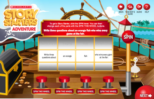 Scholastic Story Starters is a great tool that students will enjoy using to create short, creative fiction stories.  And it works on the iPad :o) (via FreeTech4Teachers)
