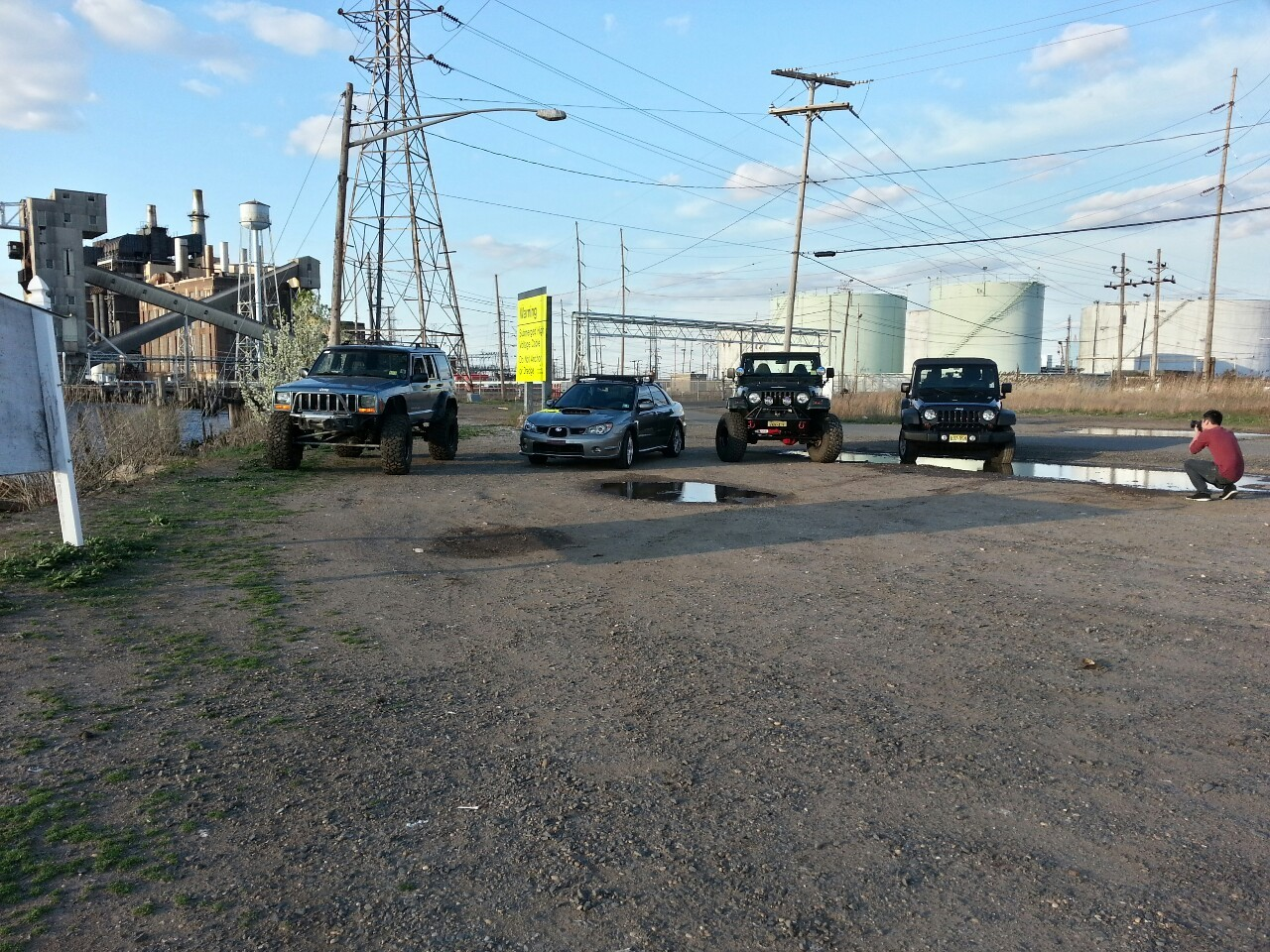 Jeeps and subi!