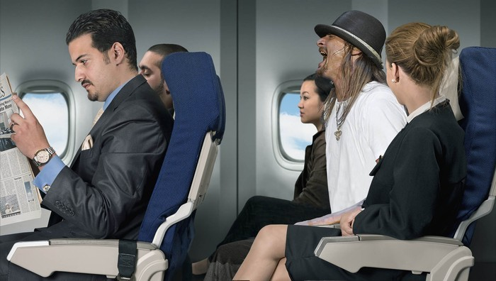 "Everyone On Flight Annoyed By Screaming Kid Rock ""Several passengers told reporters that the last 20 minutes of the flight were relatively peaceful when the hyperactive Kid Rock began to calm down after he was given a bottle."""