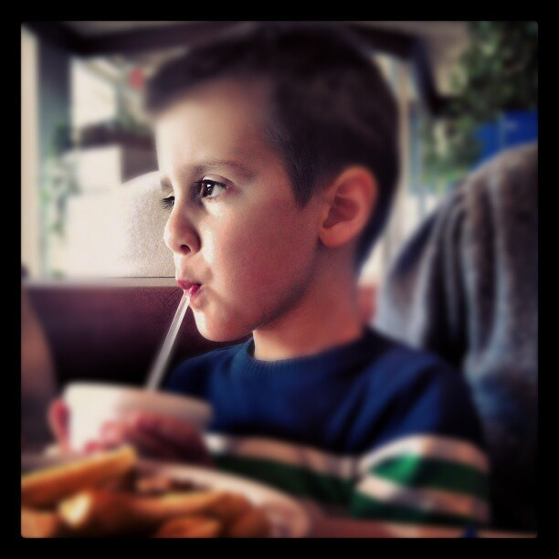Straws & Thoughts #hijo #son #LooksOlderThanHisAge