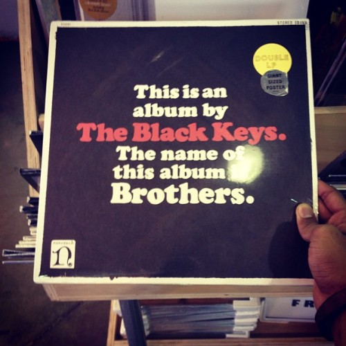 The Black Keys kind of day… #popular #blackkeys #music #brothers #rock #soul #vinyls #vintage #record #igfamous #theblackkeys #danauerbach