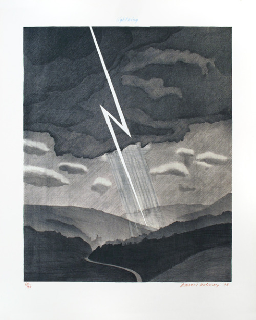 "jonklassen2:  David Hockney - ""weather"""