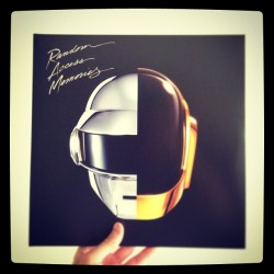 Daft Punk's brilliant new album on Vinyl and its my 30th birthday. #RAM #DAFTPUNK