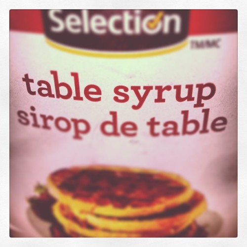 #made from the freshest tables around. #taste like yuck! And varnish. #lol #jj #love #not.