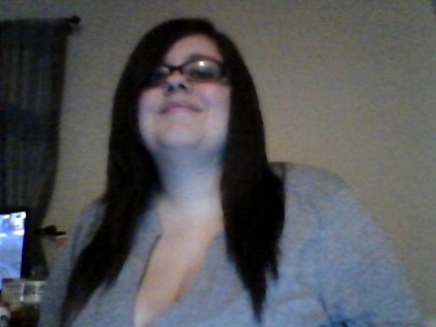 This is me just back from the movies.Hi straight hair.