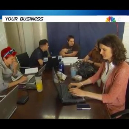 Shapeways peeps on MSNBC.