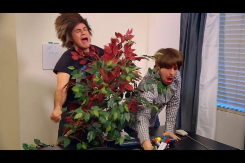 jumpupthenfall:  So this smosh video froze…