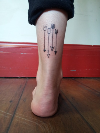 fuckyeahtattoos:  Juju tattoos. Wee cute tattoo I did.  the-mau-meow.tumblr.com x