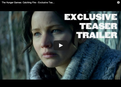 THE CATCHING FIRE TRAILER IS (FINALLY) HERE