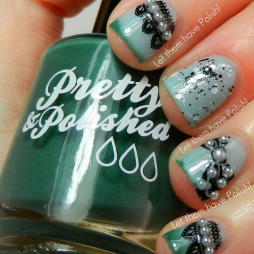 On letthemhavepolish.com right now is Muffin's Monday Pick #PrettyandPolished in Tomboyish gets a girly makeover #officialletthemhavepolish #nailart #nails #nails2inspire #nailpolish #etsy #nailpolish #nailporn #nails4yummies