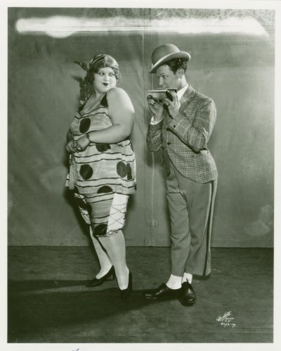 polianarchy:  Belle Baker (as the title character of Betsy) with Borrah Minnevitch (Minevitch), leader of the Harmonica Symphony Orchestra