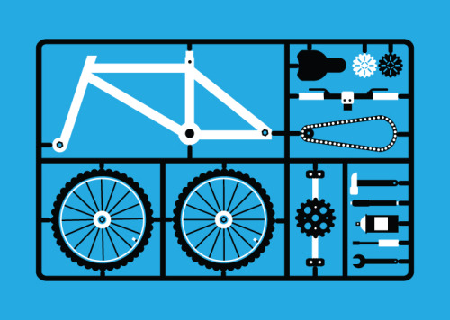visualgraphic:  D.I.Y. Bycicle