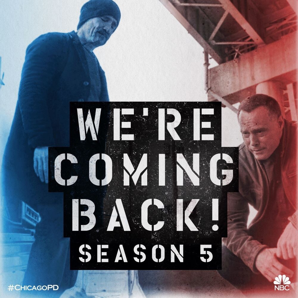 You called, we answered. Chicago P.D. returns for Season 5 on NBC!
