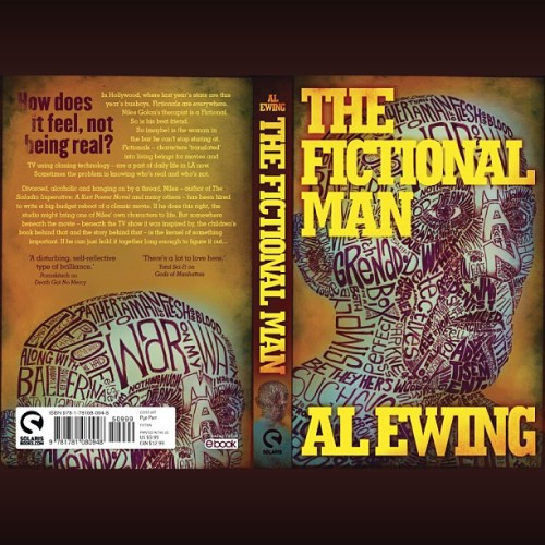 "alewing:  ""Alternative cover for the US edition. The American sales team weren't keen on the original, so I swapped out the text for a more standard book cover layout."" - @pyeparr- #webstagram (Pre-order/read an excerpt here.)"