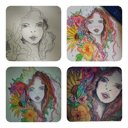 Stages… #art #design #illustration #instagood #drawing #watercolour #pencil #creative