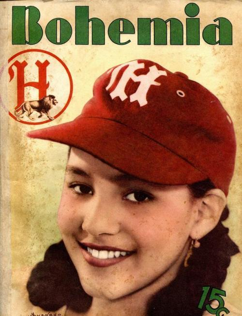 Bohemia magazine cover featuring a Habana fan.