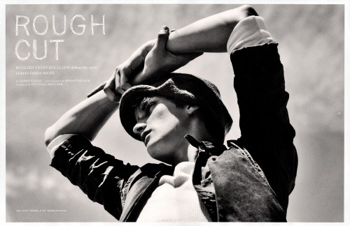 mme-edna:  Rough Cut Matt Masterson by Sebastian Kim for Los Angeles Times Magazine September 2009
