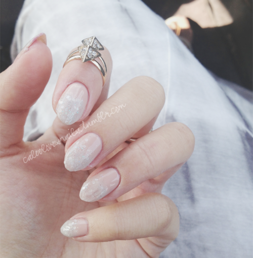 Hi everyone! I hope all is well; I haven't been updating this nail blog is SO long because life is so busy for us nowadays. I just wanted to share a recent mani that I posted on my Instagram (@caleemama) :)This holiday mani was inspired by @stephstonenails, she is SO amazing! You have to look up her Tumblr & Instagram because she is quite a talented artist. Her mani was featured in Allure magazine, and once I saw it, I instantly ran to my polish collection & grabbed all the perfect colors. I used: Zoya - SkyeOPI - Skull & GlossbonesNubar - White Polka DotSeche Vite Top Coat I absolutely LOVE the turn-out! It's probably my favorite mani that I've done on myself all year (with the lack of time I have nowadays, doing my nails gets more and more exciting for me). As always, chunky glitter is a favorite! Anyways, I know I'm not always on here, but you guys can always keep in touch with me through my INSTAGRAM: @caleemama & I'll do my best to keep updating this blog as much as I can!  HAPPY HOLIDAYS TO YOU ALL! <3