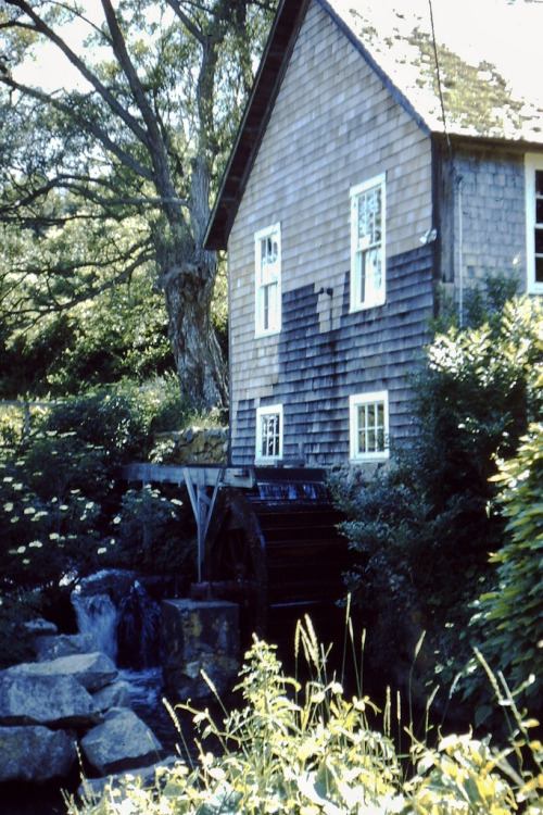 old mill near Brewster, MA (by h willome)