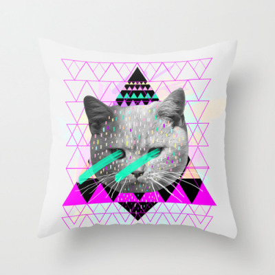 Pastel Throw Pillow by Kris Tate | Society6
