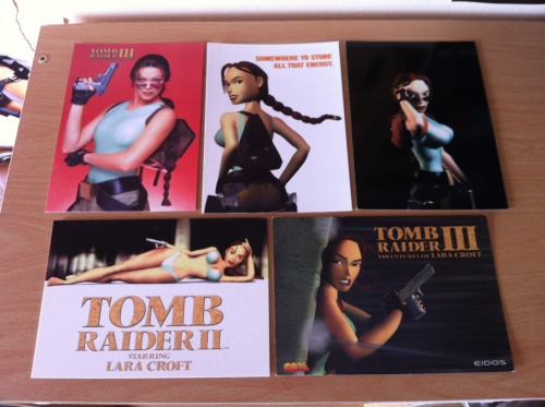 Tomb Raider Postcards  ~TRK's Tomb Raider Collection~