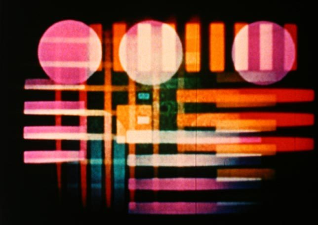 mrowsan:  Harry Smith, film still from Early Abstractions, 1941-57