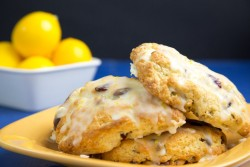 foodopia:  meyer lemon scones with pistachios and cranberries: recipe here