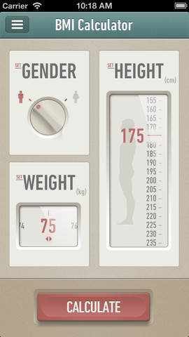 consumerismandconsensualgraphics:  (via Calculate BMI for iPhone 3GS, iPhone 4, iPhone 4S, iPhone 5, iPod touch (3rd generation), iPod touch (4th generation), iPod touch (5th generation) and iPad on the iTunes App Store)