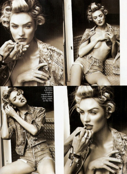 suicideblonde:  Candice Swanepoel photographed by Mariano Vivanco for Vogue Spain, April 2013.