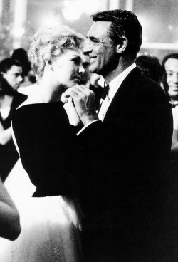 kimnovaks:  Kim Novak dancing with Cary Grant