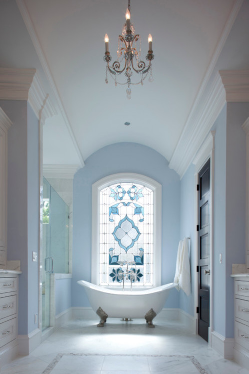 homedesigndarlings:   Traditional Bathroom by Houston Home Builders Whitestone Builders