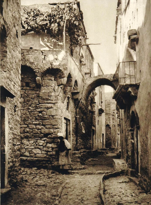 Greek island of Chios, 1928