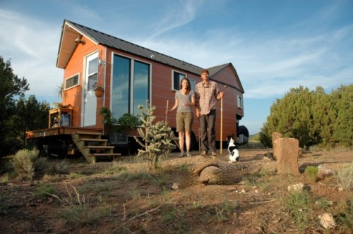 laughingsquid:  Couple Builds Their Own Tiny Trailer Home in Pursuit of Simplicity