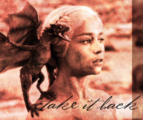 lightning-runner:   take it back → a Daenerys fanmix  clint mansell lux aeturna // ms mr dark doo wop // florence + the machine seven devils // lindsey stirling crystallize // iron & wine evening on the ground (lilith's song) // yeah yeah yeahs heads will roll // marina and the diamonds power & control // mumford & sons broken crown // iron and wine woman king // die mannequin saved by strangers // ms mr bones // florence + the machine howl // jen titus o death [listen]