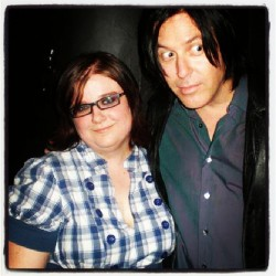 renholder:  Me and @troyvanleeuwen, back n 2008. At The Roxy, after The Gutter Twins show. I think some drunk chick was about to run into us. Love this picture. #throwbackthursday #tbt #qotsa #queensofthestoneage