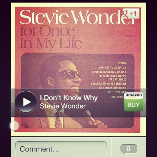 School yourselves young bucks #steviewonder #dontknowwhy #goodmusic #oldsoul