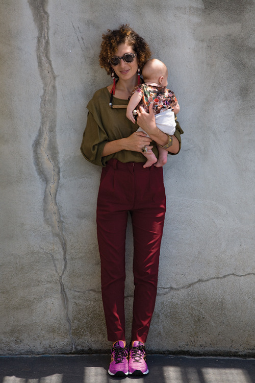 oystermag:  Oyster Words: Elke Kramer on Motherhood