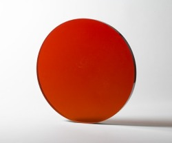cavetocanvas:  DeWain Valentine, Circle Orange, 1970