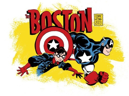 Boston Comic Con Postponed Over Area Security Concerns By Andy Khouri As a consequence of the ongoing security concerns in the area as law enforcement officials pursue a suspect in this week's tragic Boston Marathon bombings and violence in nearby Watertown and at MIT, the Hynes Convention Center has suspended all events. Among those is of course the Boston Comic Con, scheduled for this weekend but now postponed until further notice. READ MORE