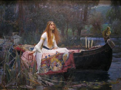 lover-of-the-starkindler:  The Lady of Shallot by John William Waterhouse