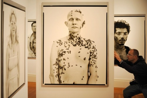 I ritratti di Richard Avedon   La mostra allestita nel 2008 a Berlino (AXEL SCHMIDT/AFP/Getty Images)