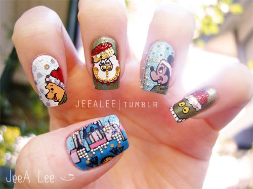 23 beautiful christmas nail art tumblr ledufa marvellous christmas nail art tumblr 17 following inspiration article prinsesfo Images