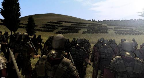 Awesome Rome Total War screenshot I edited