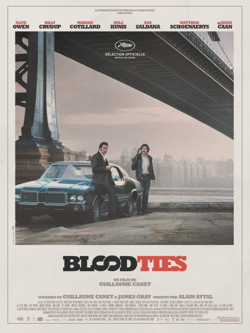 First Official Poster for Blood Ties (2013)