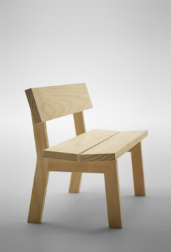 Jasper Morrison / Botan Bench for Maruni 2013