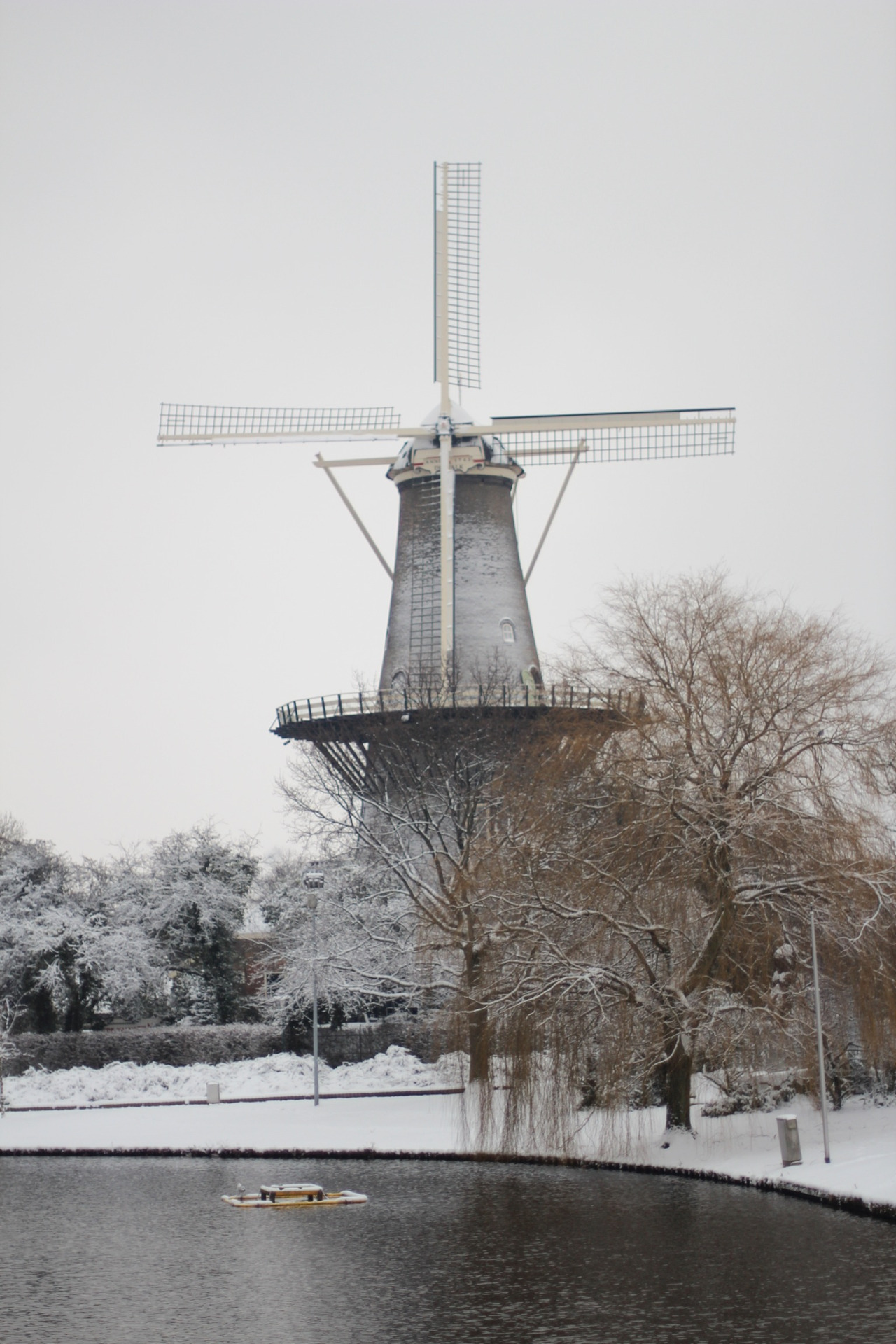 De Valk in winter